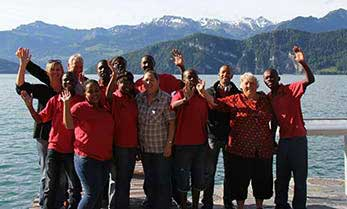Namib Marimbas Tour Group in Switzerland