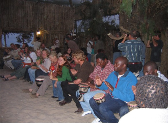 Drumming Circle - Team Building Exercises